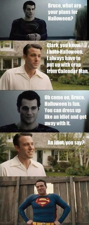 Affleck is SO NOT Batman, but this is just too hilarious:D