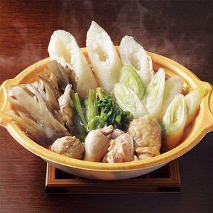 <秋田>冬の秋田を代表する郷土料理。【V】秋田 比内地鶏きりたんぽ小分け鍋