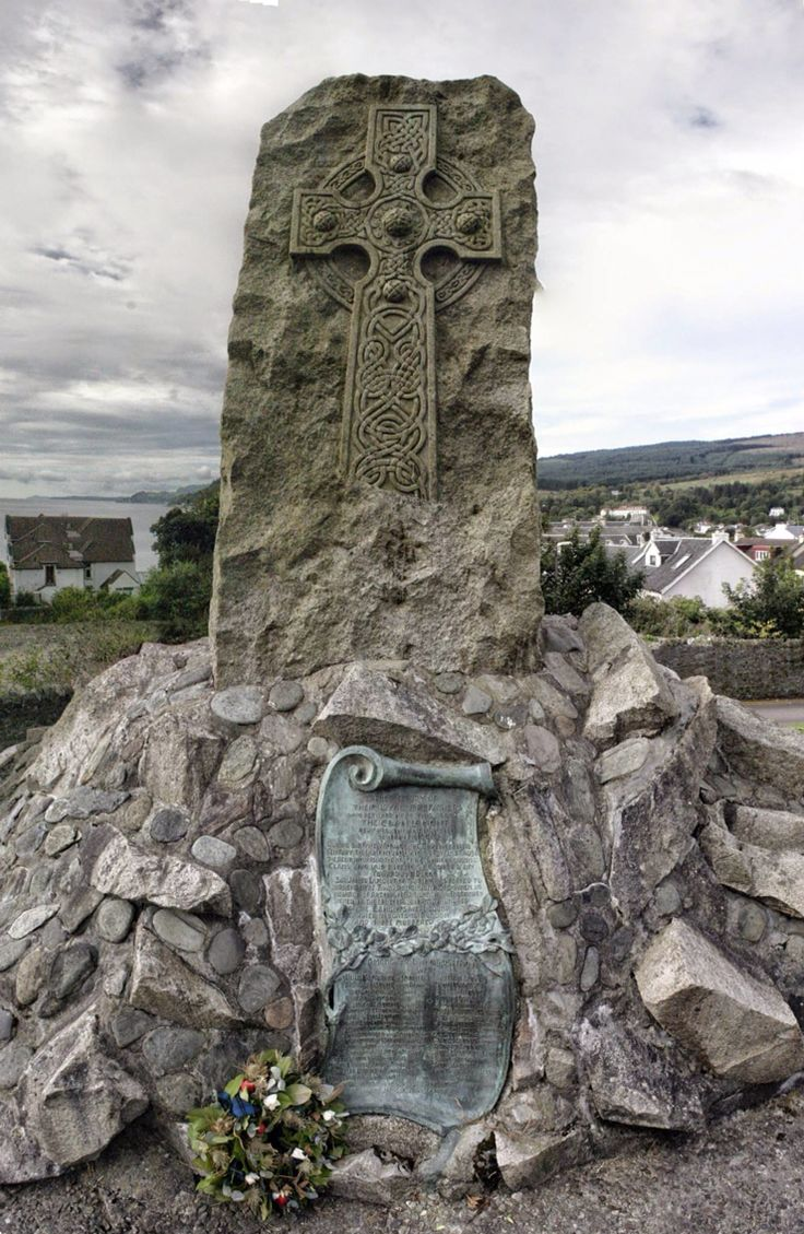 Clan Lamont Memorial, Dunoon, Scotland