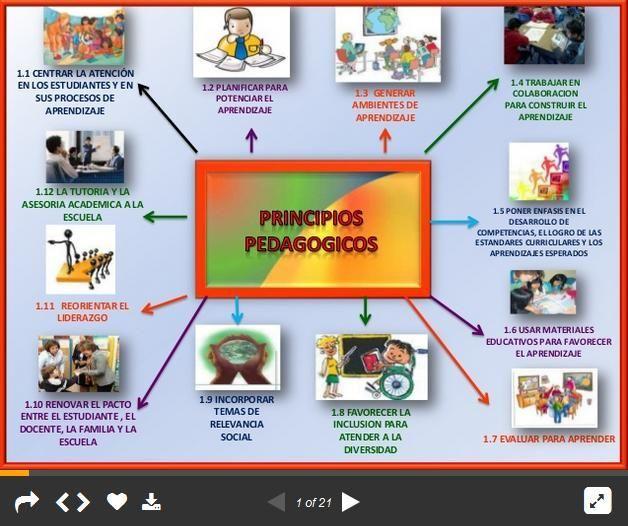 12 Principios Pedagógicos - Guía Docente | #Presentación #Educación