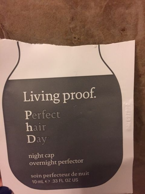 Tried out the Living Proof night cap on my hair, here are my thoughts on it! #haircare #blogpost #review #beauty