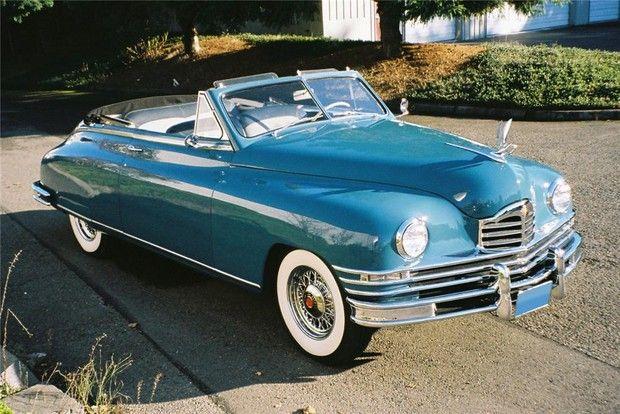 1948 Packard Custom Victoria Convertible