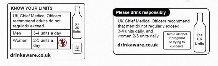 En las nuevas etiquetas se detallará las unidades alcohólicas máximas recomendadas y se sugerirá a las mujeres embarazadas o que deseen estarlo que eviten totalmente el alcohol. En Reino Unido, las botellas y latas normalmente aparecen con el porcentaje de alcohol que contienen, pero sólo algun…