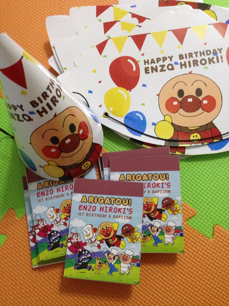 Customized party hat and notepad party favor