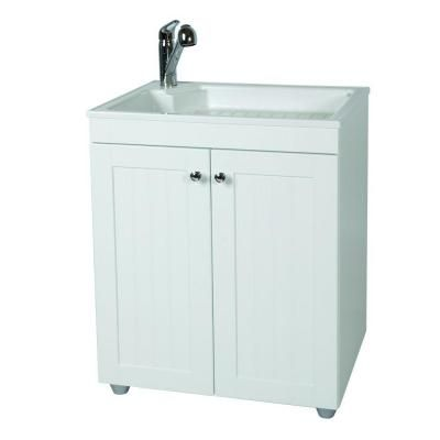 Glacier Bay 27 In W Base Cabinet With Abs Sink In Country
