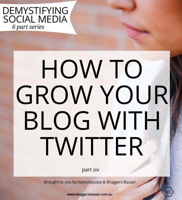 How to grow your blog with Twitter