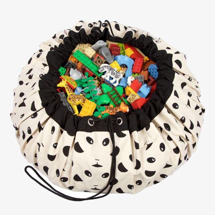 Play & Go Speelmat Panda / Play & Go Sac / Tapis de jeux Panda / Play & Go Panda bag