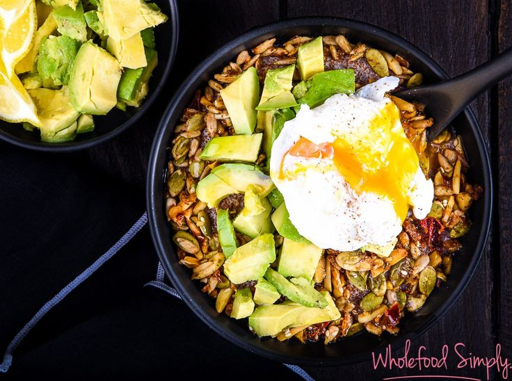 Not Quite Savoury Oats.  Quick, simple and delicious!  Free from dairy and refined sugar (can also be free from gluten depending on your grain of choice).  Enjoy!