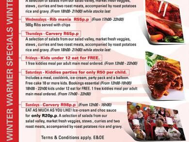 Mike's Kitchen N1 City - Winter Warmer Specials