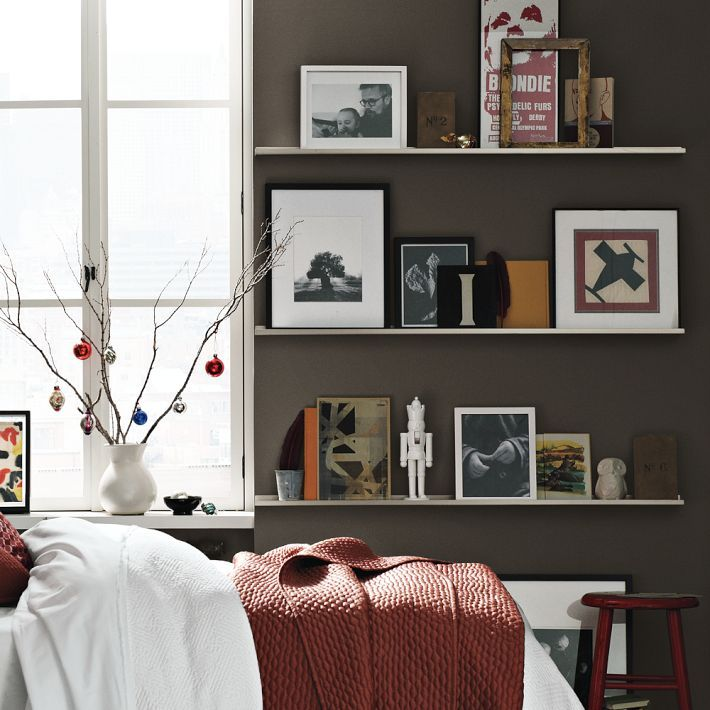 Furniture Metal Picture Ledge Wall Shelves Ideas Also White Frame For  Window Wonderful Wall Shelving Ideas