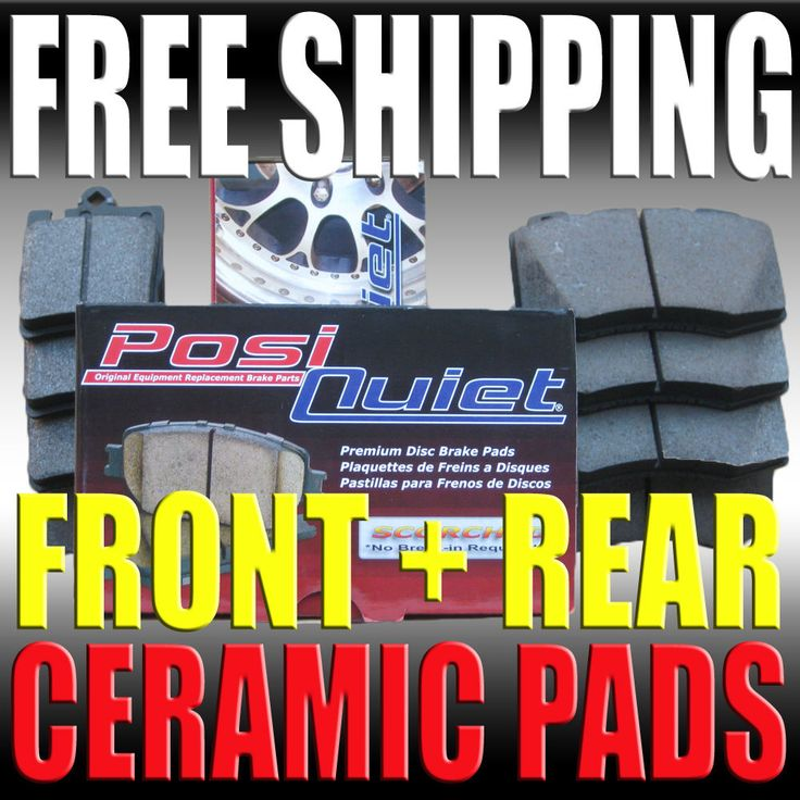 Mazda Protege Protege 5 ES MP3 01-03 Ceramic Brake Pads Front & Rear