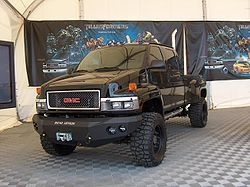 Transformers GMC truck! TOUGH!