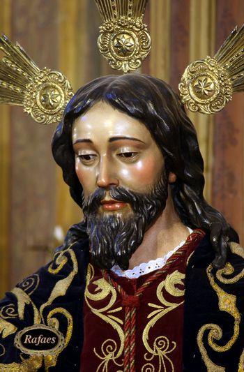 Cristo de Juan de Mesa, realizado en 1620. La Virgen del Socorro obra de Juan de Mesa (1620), remodelada por Juan de Astorga, XIX; por Castillo Lastrucci, 1934 y por Francisco Buiza en 1967.