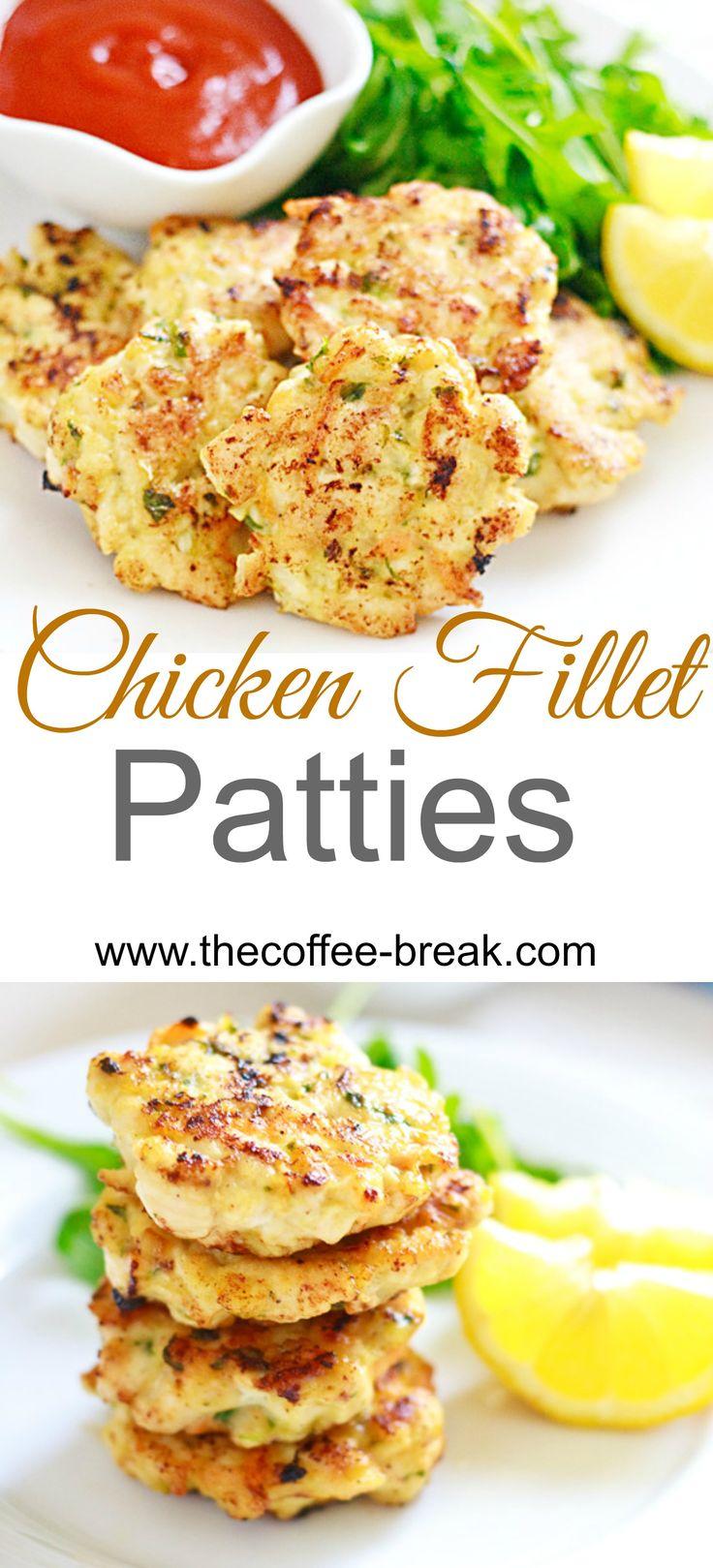 Chicken Fillet Patties    www.thecoffee-break.com