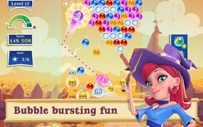 Download Full Free Bubble Witch 2 Saga v1.16.3 Mega MOD Apk – Android Games by King  Description  Release the magicFrom the makers of Candy Crush Saga, Bubble Witch Saga & Farm Heroes Saga comes Bubble Witch 2 Saga!It's Bubble Bouncing Magic Stella and her cats need your help to fen...