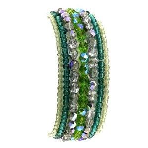 Lot de bracelet multicouleurs en perles - Bijoux fantaisie: ShalinCraft: Amazon.fr: Bijoux