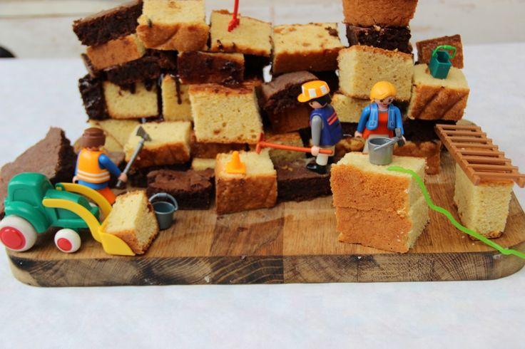 Gâteau en chantier