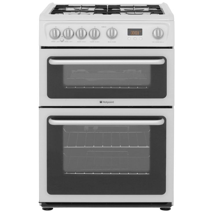 Hotpoint Ultima Freestanding Gas Cooker | HARG60P | ao.com