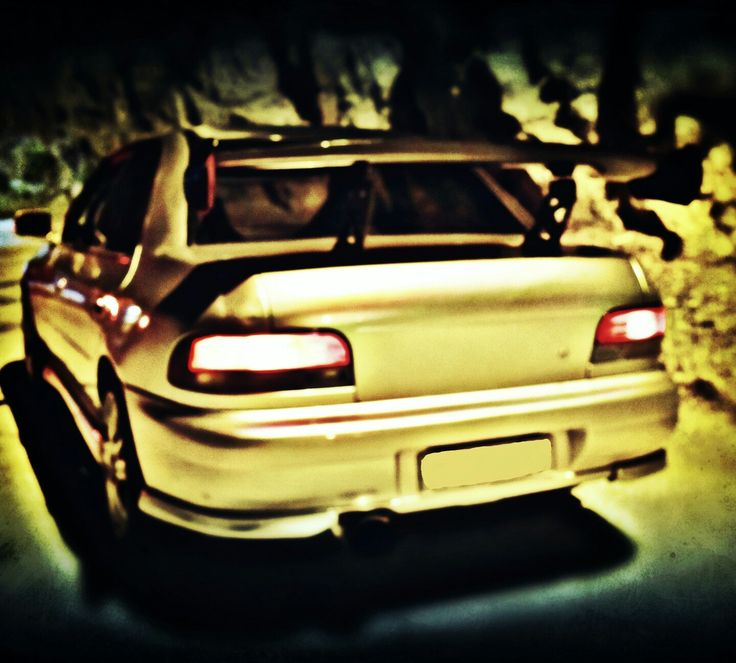Subaru impreza gc8 track spec