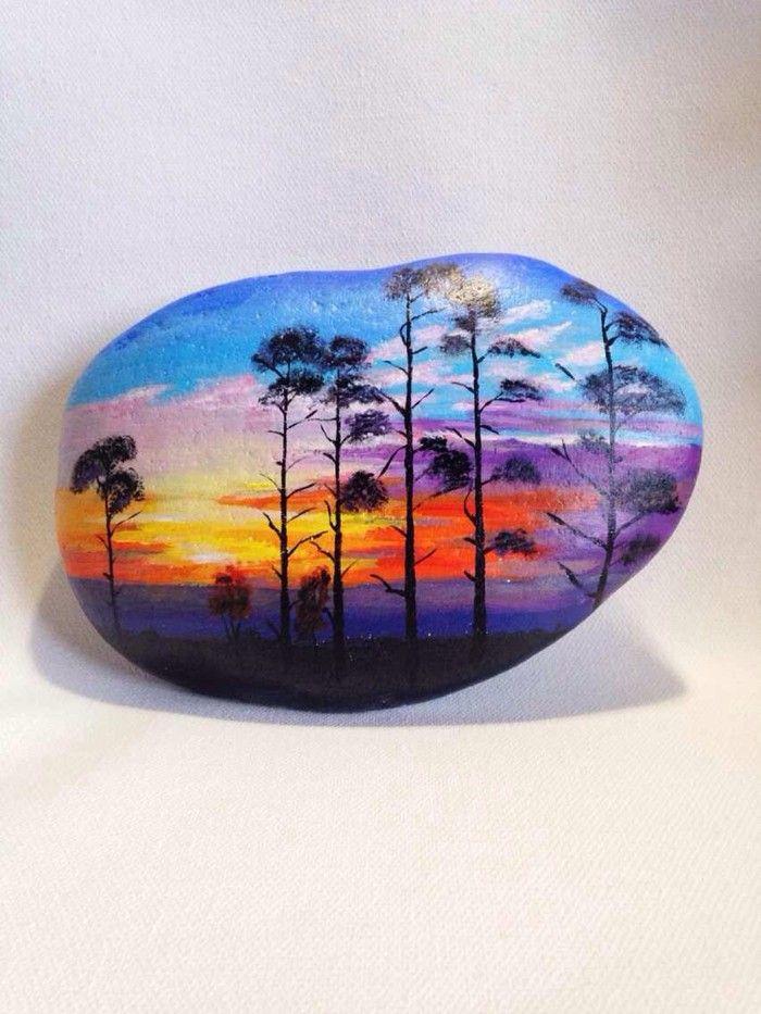 NATURE: Painted rocks