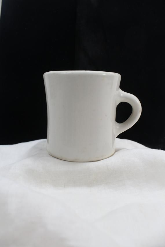 Victor Ironstone Coffee Mug, Porcelain mug by Victor