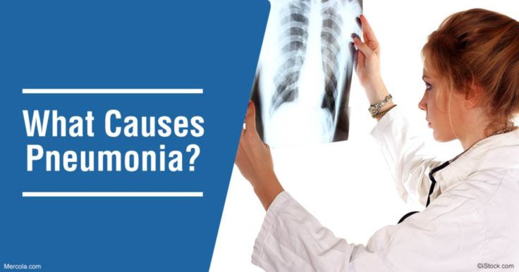 There is not just one primary cause of pneumonia. This illness can actually be brought on by different types of germs, including viruses, bacteria, and fungi, that you inhale. http://articles.mercola.com/pneumonia/causes.aspx