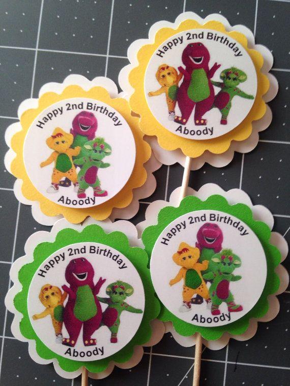 Barney Baby Bob & BJ Baby Shower/Birthday Party por Hardtofindparty                                                                                                                                                                                 Más