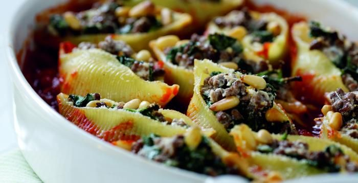 Italian Style Stuffed Pasta Shells | Recipe | Simply Beef and Lamb