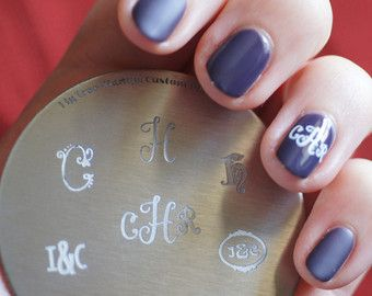 Custom Nail Stamping Plates Design Your Own Personalised