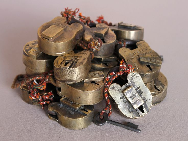 Small Old Brass Padlock https://www.scaramangashop.co.uk/item/1260/112/Gifts-For-The-Home/Small-Old-Brass-Padlock.html
