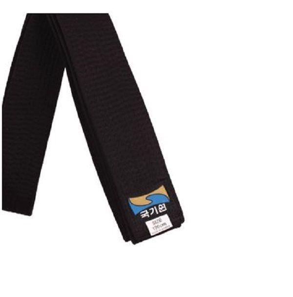 Kukkiwon black belt Korean Taekwondo uniform 160~210 1ea 6 size TKD  #ksd