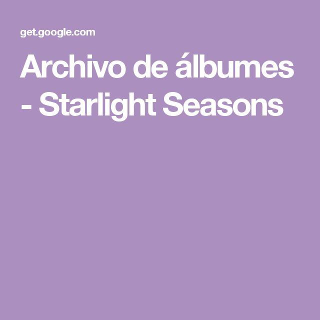 Archivo de álbumes - Starlight Seasons