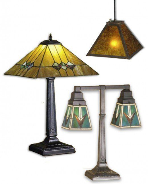 Arts Crafts The Movement Design Styles For Architecture Interior Decorating Martini Mission Table Lamp