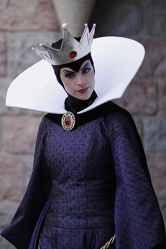 Evil Queen cosplay!