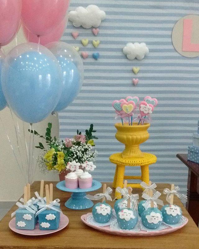 Detalhes tão amados ...#analufestas #festachuvadeamor balões @showdobalao
