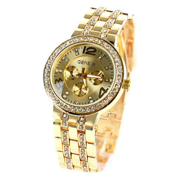 17 best ideas about geneva watches boyfriend watch geneva crystal stainless steel quartz wrist watch