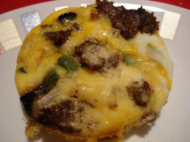 South Beach Diet Sausage Veggie Breakfast Muffins Recipe