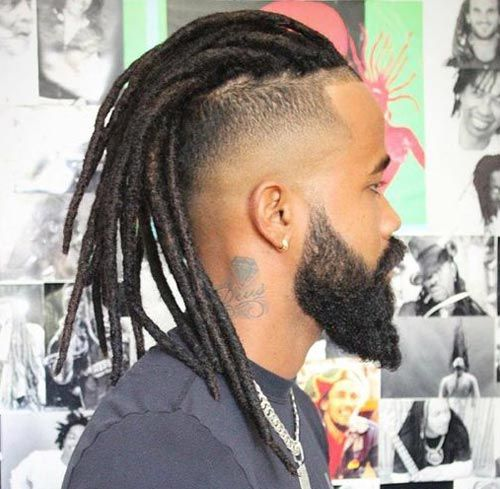 Artificial Dreadlocks Hairstyles Black