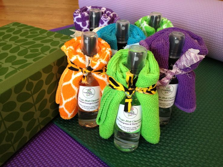 Yoga Mat Cleaner w/wipe cloth by theHERBALCache on Etsy https://www.etsy.com/listing/217573320/yoga-mat-cleaner-wwipe-cloth
