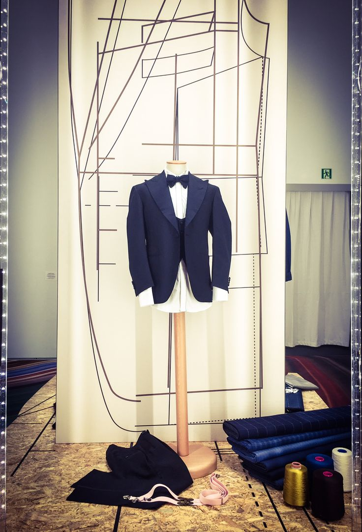 Vitale Barberis Canonico's exhibition of the new Spring/Summer 2017 collection at #Mudec, in Milan.