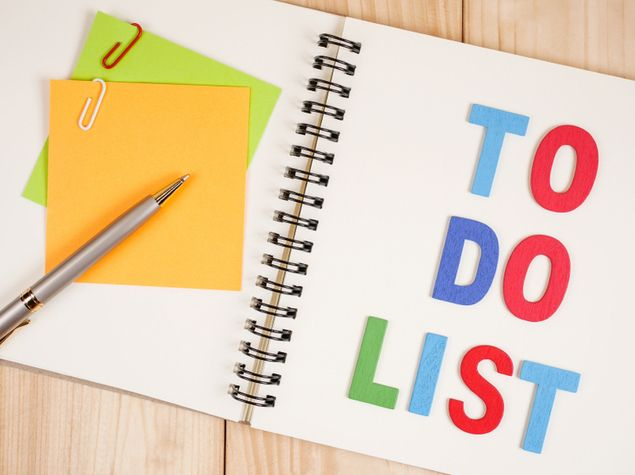 To-Do List: Starting a New Semester