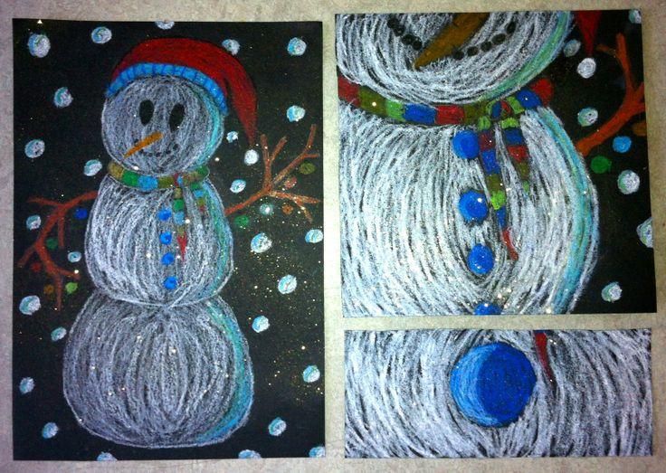 Meet The Creative Part of Me : Tegn en snemand - en opgave i at zoome uden kamera