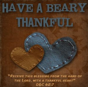 Thanksgiving Missionary Care Package Printables