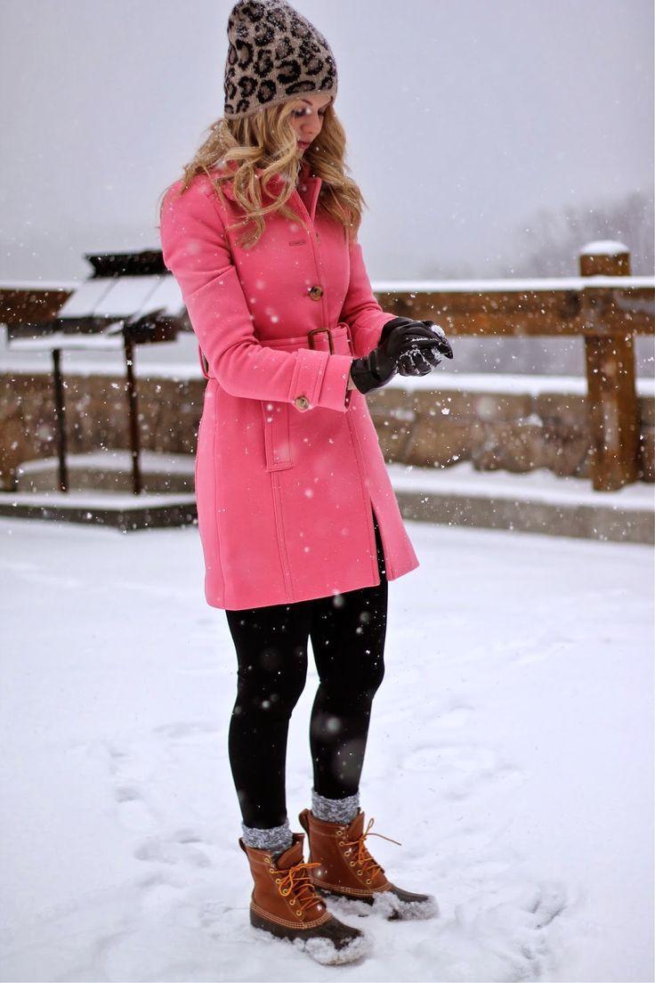 Snow Day!! L.L.Bean Boots