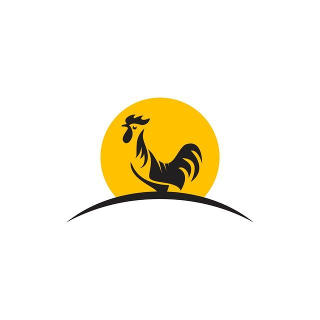 Rooster Logo Vector Template Design Illustration Hen Clipart Logo Icons Template Icons Png And Vector With Transparent Background For Free Download Rooster Logo Chicken Logo Logo Illustration