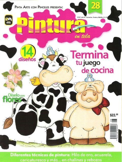 FREE MAGAZINE! ..Pintura en Tela n28 - M Andrade - Picasa Web Albums!