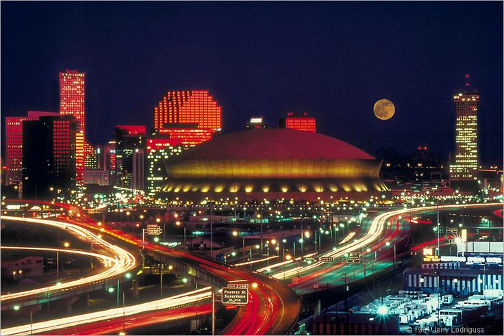 Superdome in New Orleans secret  headquarters of the Equinox Agency lie beneath.