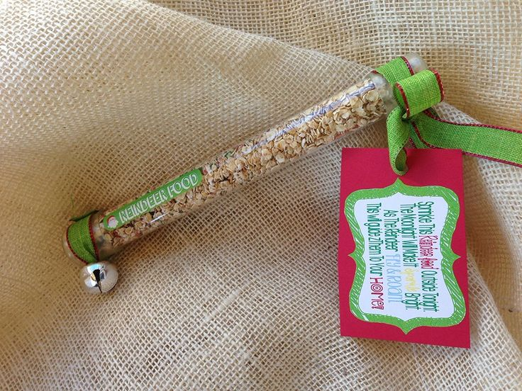 Amazon.com: Reindeer Food - A Fun Christmas Tradition, Stocking Stuffer, & Gift Idea - Pre-Packaged Tube of Magic Reindeer Food: Home & Kitchen
