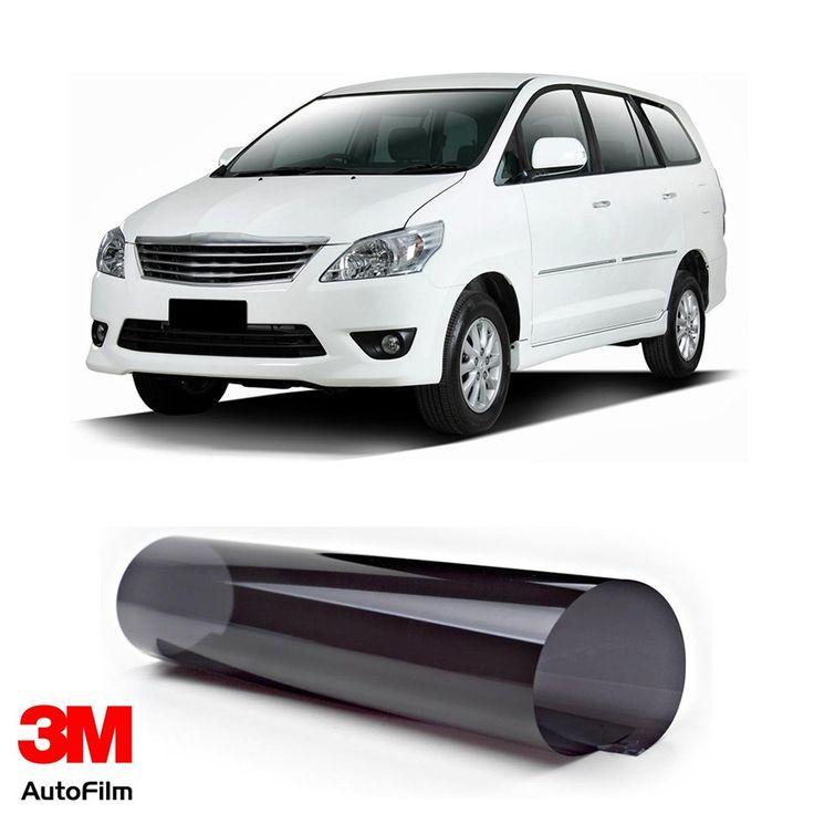 3M Auto Film / Kaca Film Mobil - Paket Medium Eco Black u/ Toyota Kijang Innova  - Paket 3M Auto Film tipe Black Beauty u/ kaca depan, kaca samping, & kaca belakang - Menahan 99.9% sinar UV, Setara SPF 1000 - Tidak mengandung metal. http://tigaem.com/3m-auto-film/1975-3m-auto-film-kaca-film-mobil-paket-medium-eco-black-u-toyota-kijang-innova.html  #paketmediumecoblack #autofilm #kacafilm #kacamobil #toyota #innova #3M