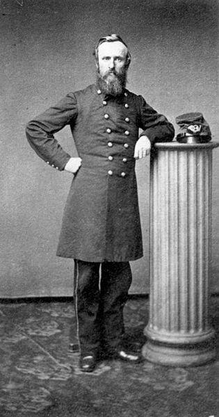 Rutherford Birchard Hayes (October 4, 1822 – January 17, 1893) born in Delaware, Ohio, an attorney & city solicitor of Cincinnati from 1858-61. When the Civil War began, he joined the Union Army as an officer. He was wounded five times, most seriously at the Battle of South Mountain; he earned a reputation for bravery in combat & was promoted to the rank of major general. In 1876, Hayes was elected president of the U.S. in one of the most contentious & confused elections in national history.